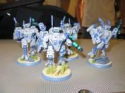 More Battlesuits...