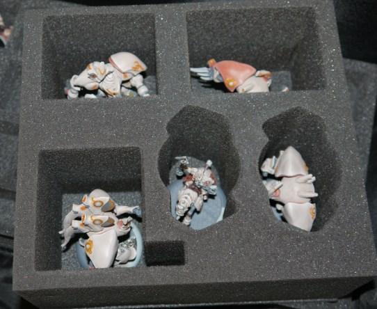 The custom heavy myrmidon tray