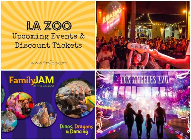 La Zoo Lights Tickets Door