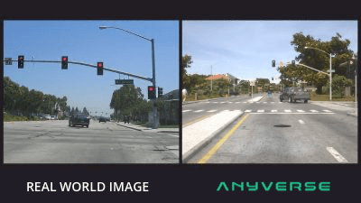 Synthetic vs. Real-world data for traffic light classification | Anyverse