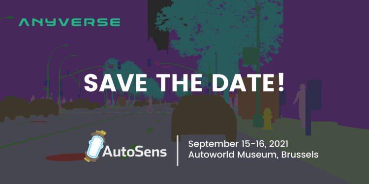 Anyverse will be at AutoSens Brussels 2021