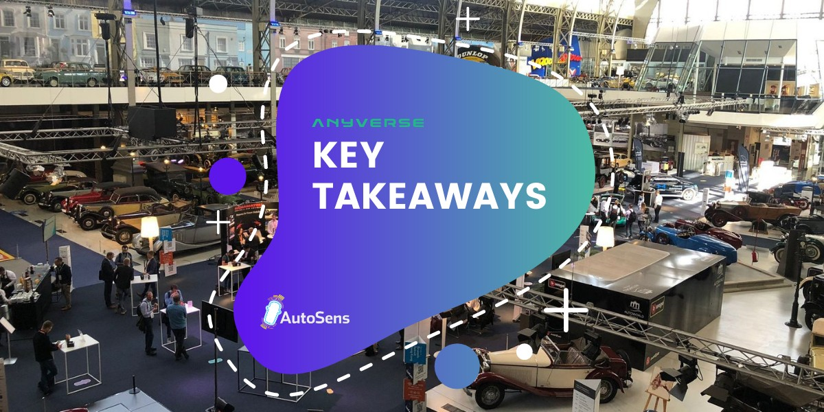 Our takeaways from AutoSens Brussels 2021 - Anyverse