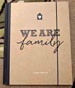 My We Are Family Journal