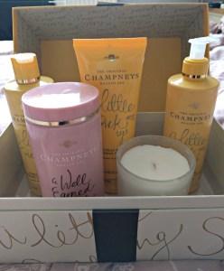 Inside the gift set