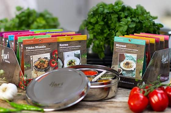 Delicious Meals using Hari Ghotra Curry Kits