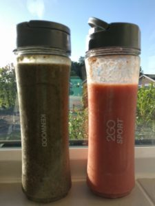 Smoothies from the Kenwood 2Go Sport