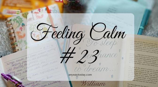Feeling Calm #23