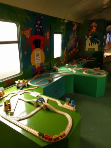 Trains to play with