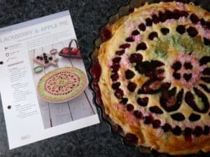 My pie vs what it should have looked like