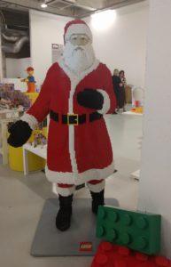 A Lego Santa at #ArgosXmas