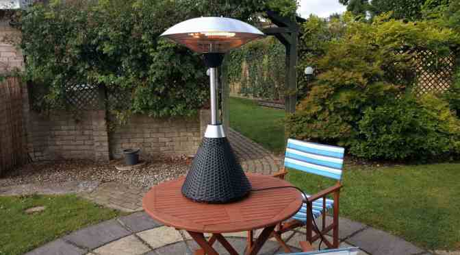 Our Garden Heater from Primrose
