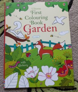 First Colouring Book - Garden