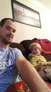 Chilling after nursery