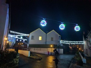The village at night