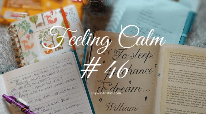 Feeling Calm #46