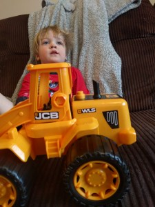 Just relaxing with my wheel loader