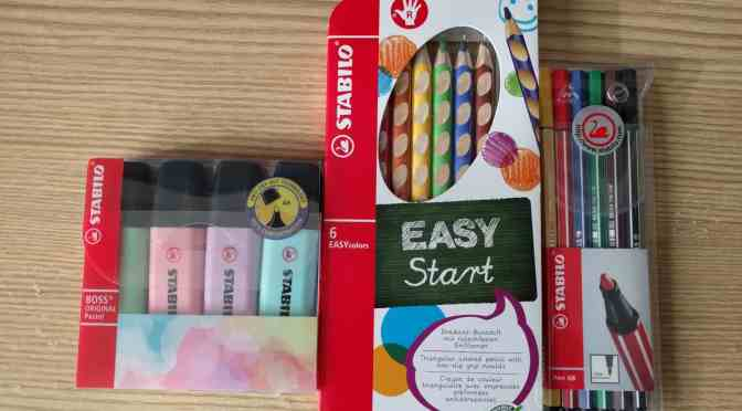National Stationery Week with Stabilo