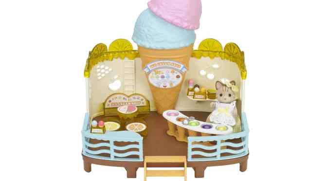 Summer with Sylvanian Families Seaside Ice Cream Shop