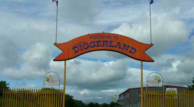 A Day Out at Diggerland