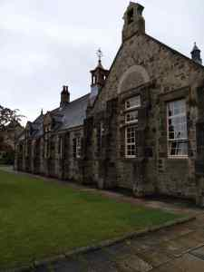 Brick built school building at Beamish museum
