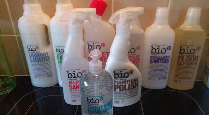 Win an Huge Cleaning Hamper from Bio-D