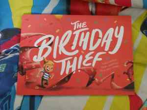 Cover of Wonderbly The Birthday Thief