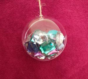 gems inside bauble