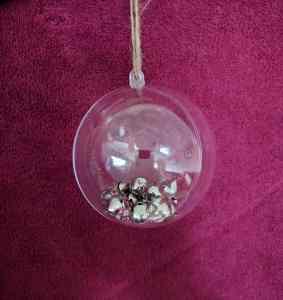 jingle bells inside bauble