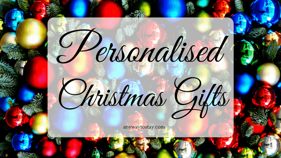 Personalised Gifts for Christmas - Any Way To Stay At Home