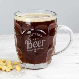 Personalised Beer Tankard