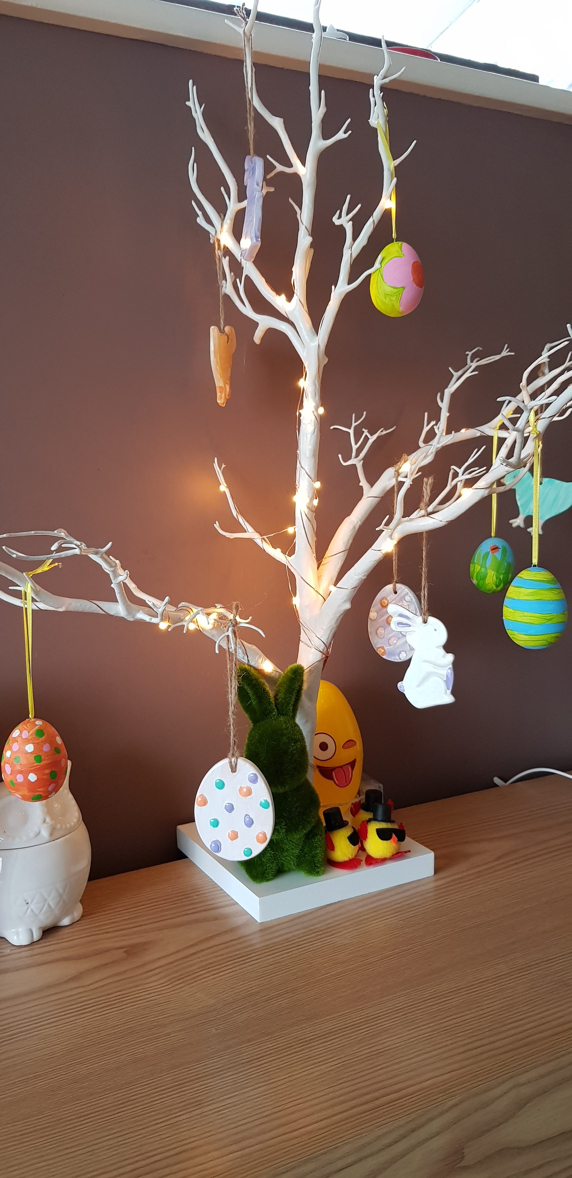 Making an easter tree with hobbycraft any way to stay at home negle Images