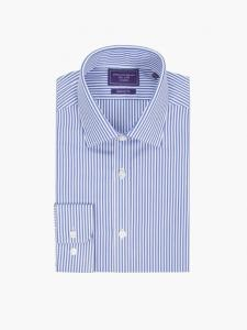 Guthrie and Valentine Blue and White Striped Shirt