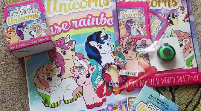 Topps I Believe in Unicorns – Review & Competition