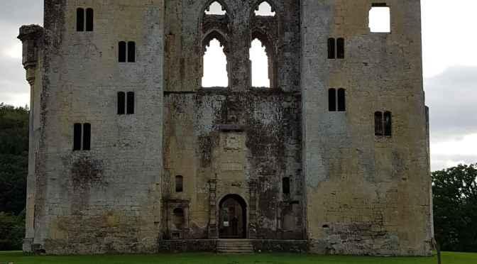 Our Visit to Old Wardour Castle