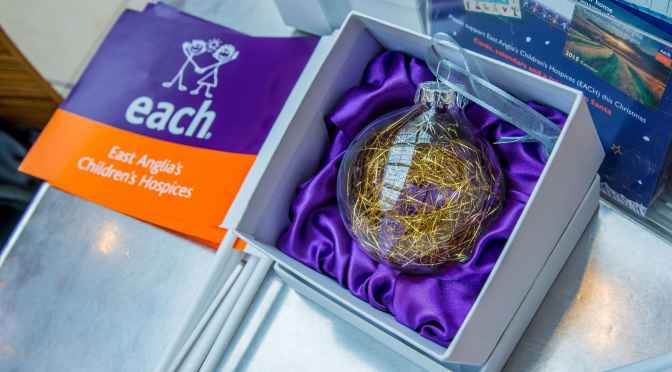 Trim your tree with a butterfly bauble from intu Chapelfield