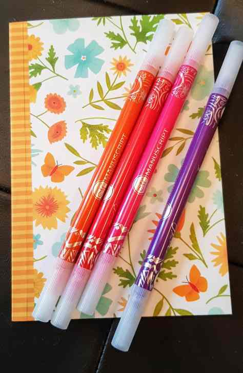 Manuscript pens