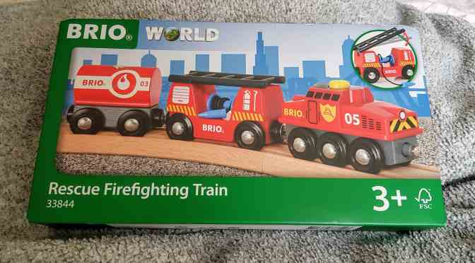 BRIO Rescue Firefighting Train Review