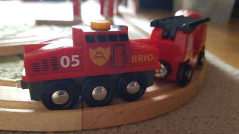 BRIO Rescue Firefighting Train