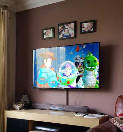 Watching Toy Story 2 on TV