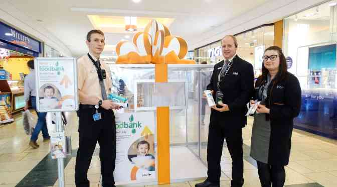 Norwich Foodbank at intu Chapelfield