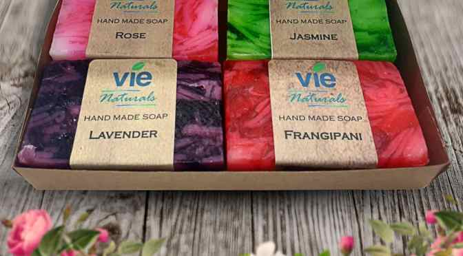 Win a set of Vie Naturals Bali Soaps