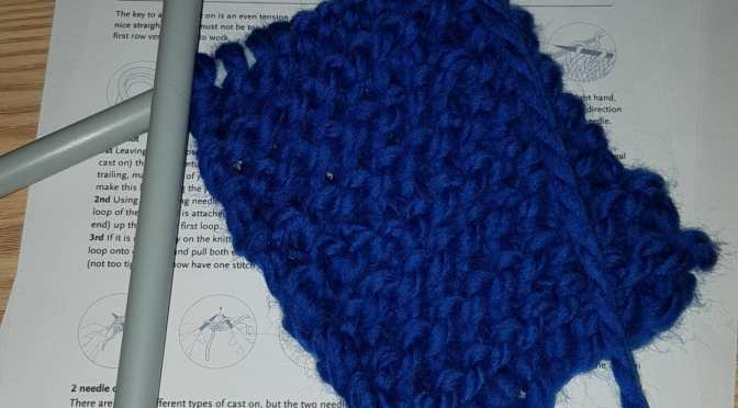 Learning to Knit with LoveCrafts