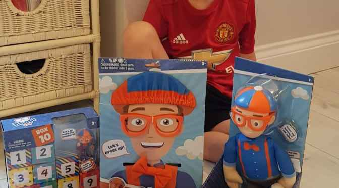 Blippi Toys Are in the UK