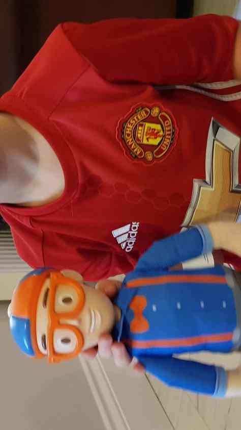 The Blippi Talking Plush