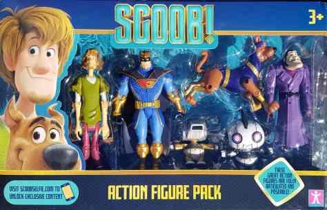 Scoob Action Figures
