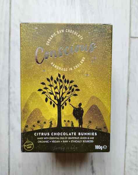 Conscious Chocolate Citrus Bunnies