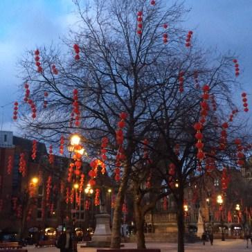 China Town, Chinese New Year; Manchester