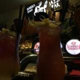 Harris' Jazz Bar; large cocktail menu and cracking live bands