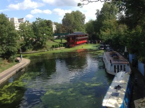 On The Way to Regents Park