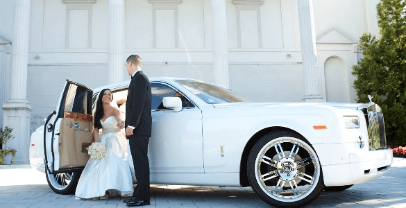 limousine-wedding